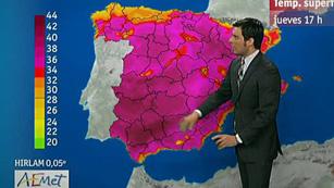 Ver vídeo  'Las temperaturas suben aún más y pueden pasar de los 40º en el sur'