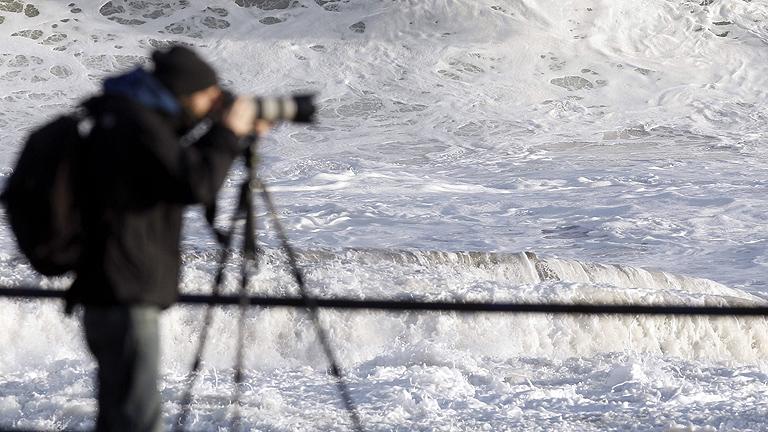 Sigue la alerta por riesgo de fenómenos costeros en el Cantábrico