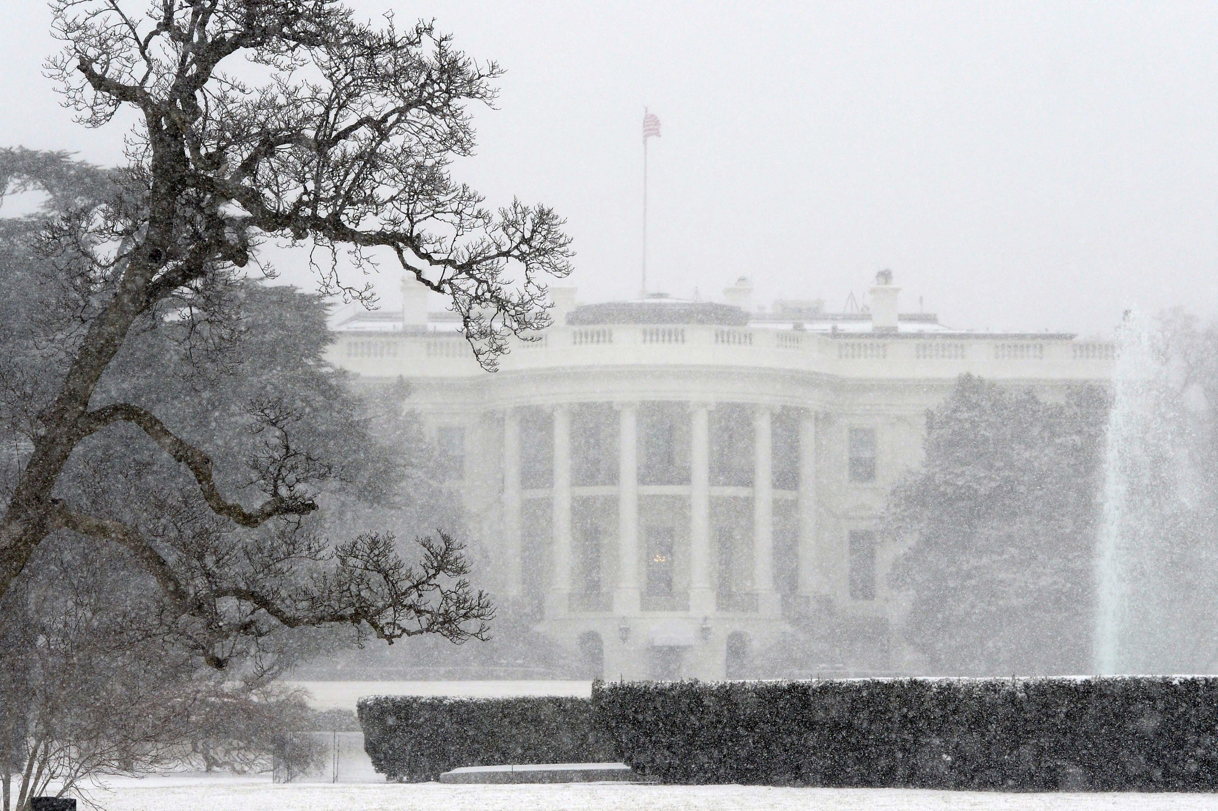 El temporal de nieve azota la costa oeste de Estados Unidos