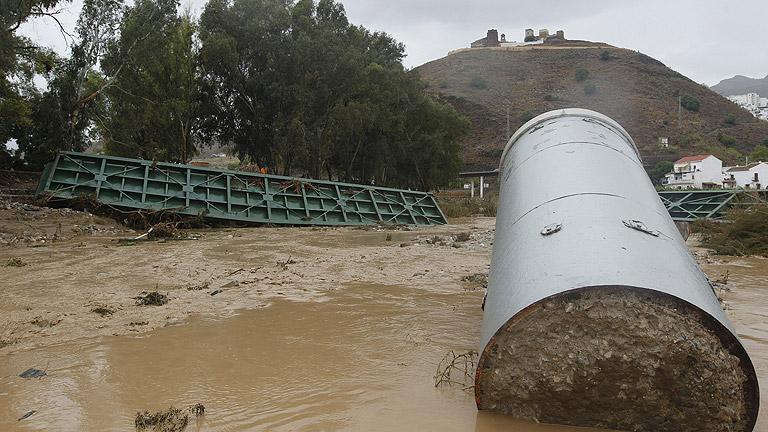 Siete muertos por el temporal que asola el sureste de España