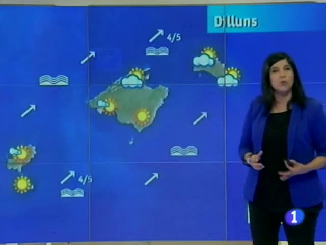 El temps a les Illes Balears - 30/04/12