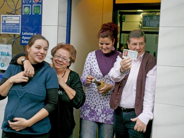 El tercer premio de la Lotería de Navidad toca en Madrid