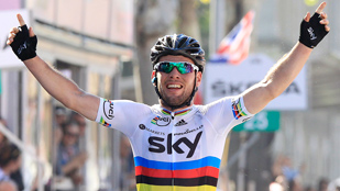 Tercera etapa para Cavendish en el Giro 2012