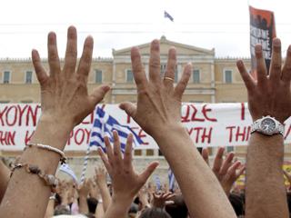 Ver vídeo  'Tercera huelga general del año en Grecia'