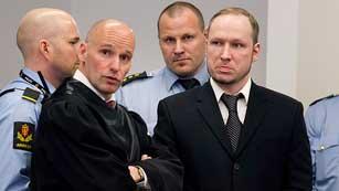 Ver vídeo  'Tercera jornada del juicio contra Anders Breivik por los atentados de Noruega'