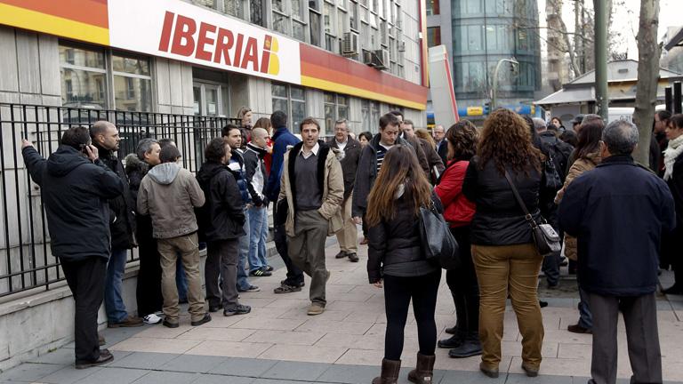 La huelga de Iberia sigue su curso tras una infructuosa reunión entre la dirección y los sindicatos