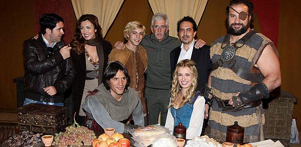 Termina el rodaje de 'El Capitán Trueno', que se estrenará en Octubre de 2011