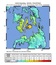 Un terremoto de 7,2 grados sacude Filipinas