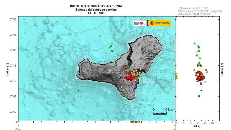 El Hierro registra un terremoto de magnitud 5.1, el más fuerte de los últimos dos años