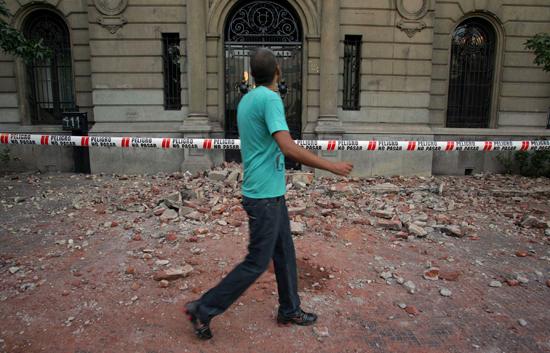 Ver v?deo  'Un terremoto de magnitud 8,8 en la escala de Richter sacude Chile'