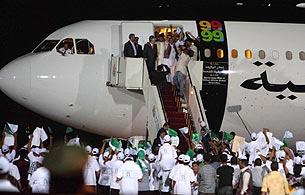 Ver v?deo  'El terrorista de Lockerbie llega a Libia tras ser excarcelado en Escocia'