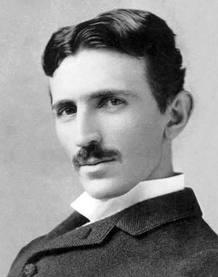 Nikola Tesla a los 34 años