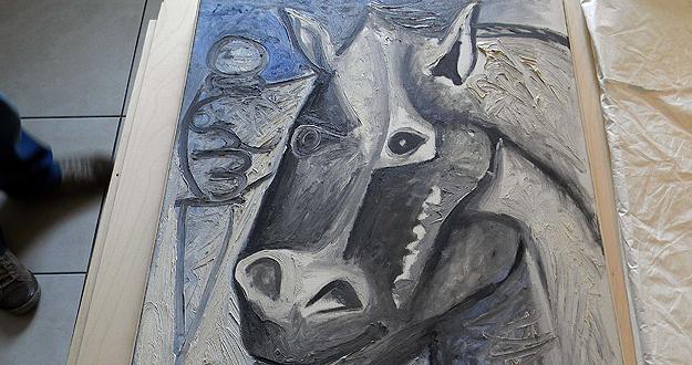 'Tête de Cheval', una de las obras robadas de Picasso y encontradas hoy