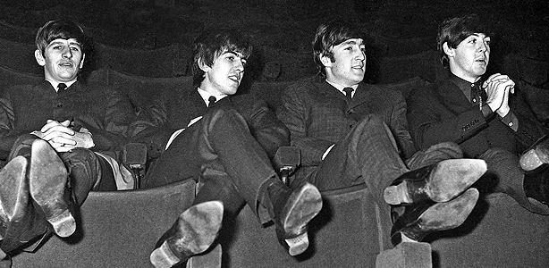 The Beatles, en una imagen de su primera época
