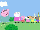 Imagen del  vídeo de Peppa Pig en inglés titulado THE SECRET CLUB