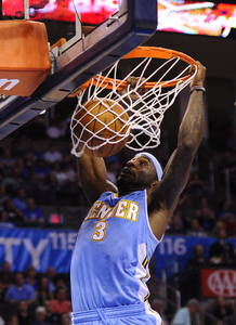 THUNDER DE OKLAHOMA CITY VS. NUGGETS DE DENVER