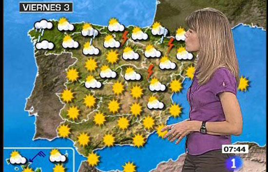 El tiempo temperaturas altas en el centro el sur y el - El tiempo en el valles oriental ...