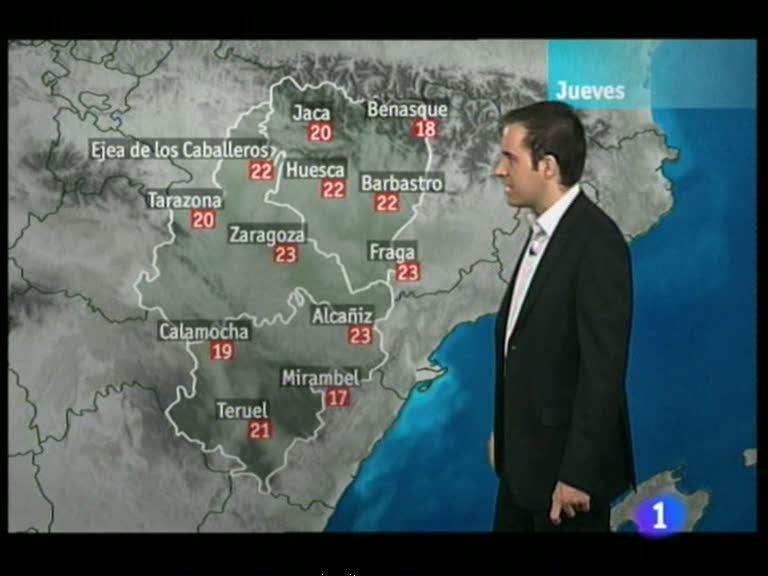 El tiempo en Aragón - 03/05/12