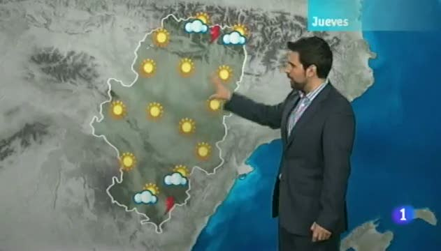 El tiempo en Arag&oacute;n - 08/08/12
