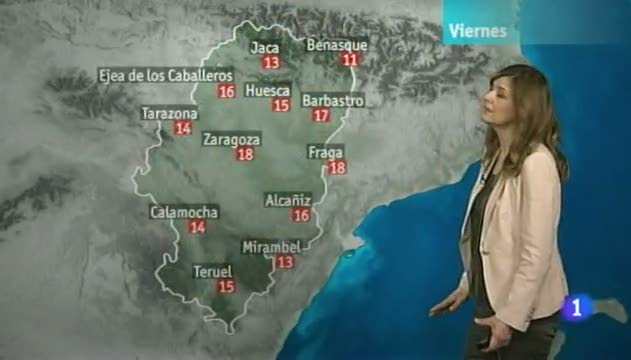 El tiempo en Arag&oacute;n - 17/05/13