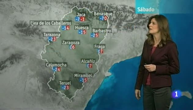 El tiempo en Arag&oacute;n - 22/02/13