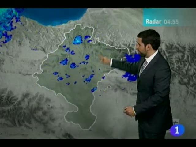 Ir al Video&nbsp;El Tiempo en la Comunidad de Navarra - 15/05/13