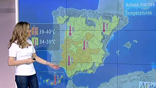 Ver vídeo  'Tiempo estable con temperaturas en máximas'