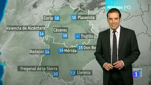 El tiempo en Extremadura - 06/07/12