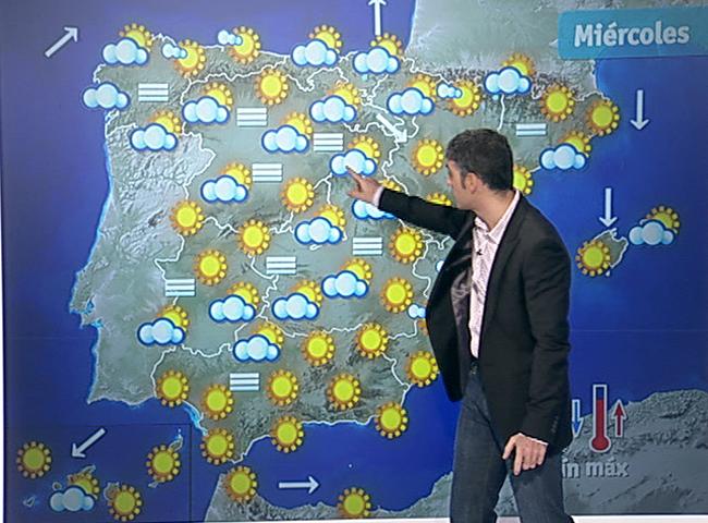 El tiempo intervalos de viento fuerte en arag n - El tiempo en torreblanca castellon ...