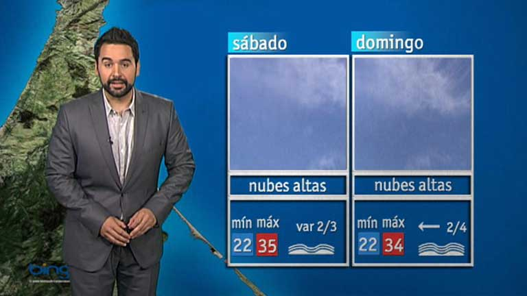 El tiempo en Melilla - 17/08/12