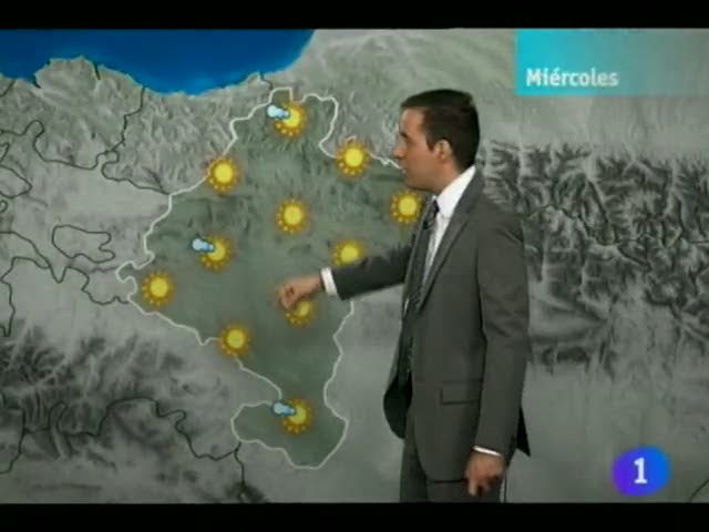El Tiempo en Navarra  16/05/12