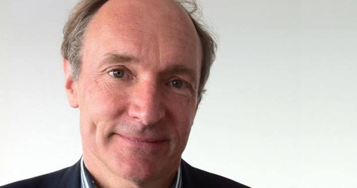 Tim Berners-Lee en 2012.