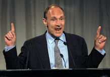 Tim Berners Lee, uno de los padres de la web