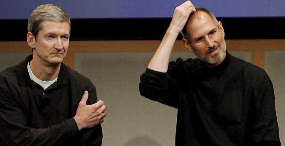 Tim Cook, un hombre calmado con la difícil tarea de brillar como Steve Jobs