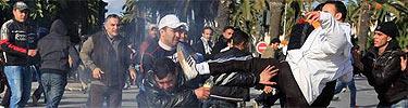 Todas las imágenes de la revueltas de Túnez