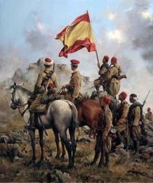 La toma de Biuzt por los Regulares en 1916