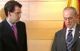Ver v?deo  'Toma de posesión en enero de 2003 de Alberto Núñez Feijóo como nuevo consejero de Política Territorial de la Xunta de Galicia'