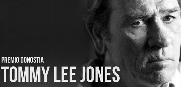 Tommy Lee Jones recibe uno de los tres Premios Donostia del 60 Festival Intenacional de San Sebastián