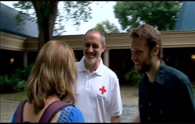 Con Toni Bruel coordinador general de cruz roja espaola