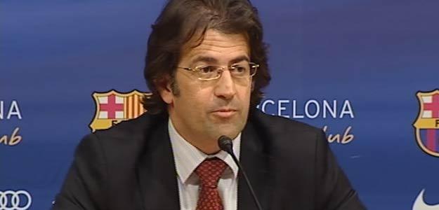 Toni Freixa, portavoz de la junta directiva del Barcelona.