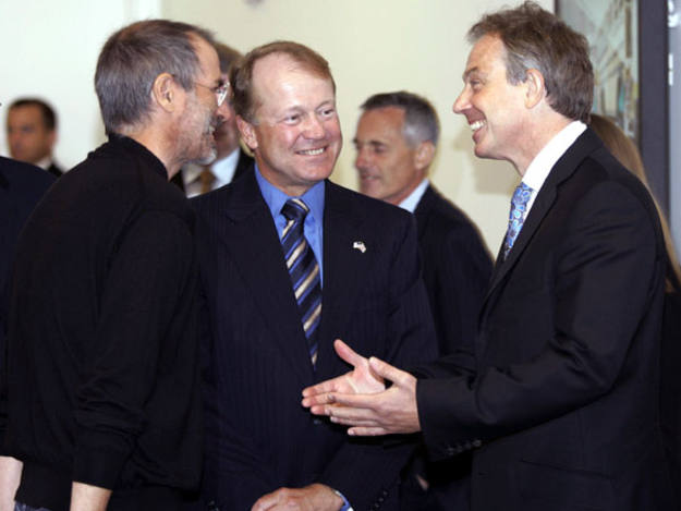 Tony Blair Apple en 2006