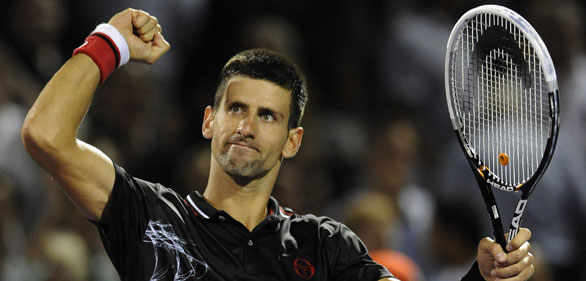 NOVAK DJOKOVIC EN TORNEO DE MIAMI 2012