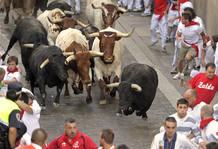 Sexto encierro San Fermín 2011