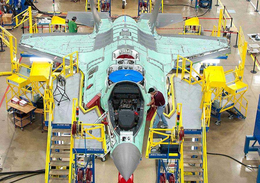 La tortuosa historia de los F-35