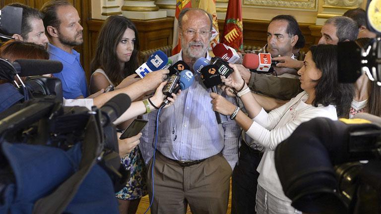 """El alcalde de Valladolid pide disculpas y dice que se han """"malinterpretado"""" sus palabras"""