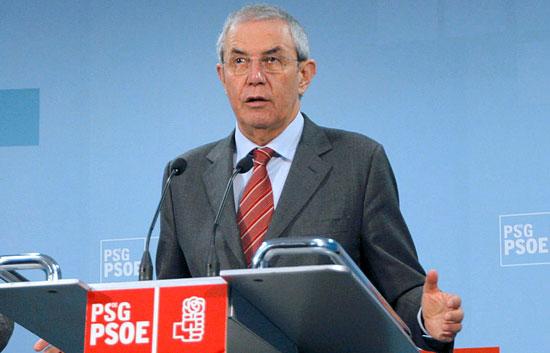 Emilio Pérez Touriño, primera víctima política de las elecciones gallegas