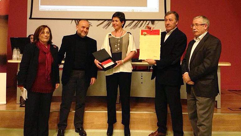 Los trabajadores de RTVE han recibido el III Premio a la Libertad de Expresión de la Fundación Primero de Mayo