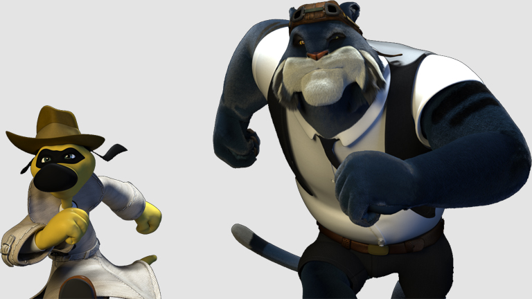 Tráiler de 'Blue & Malone, Detectives imaginarios', corto de animación dirigido por Abraham López Guerrero