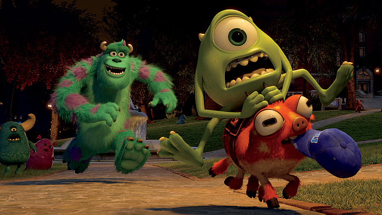 Tráiler de 'Monsters University'