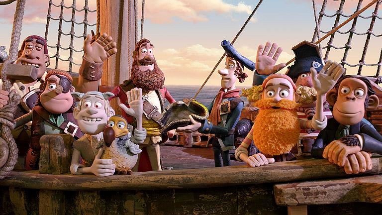 Tráiler de '¡Piratas!'